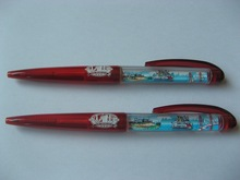 red plastic big floating pen with pvc floater inside