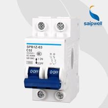 SAIP/SAIPWELL New Mini Circuit Breaker Electronic Earth Leakage Type 6 AMP Circuit Breaker