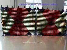 curtain led cloth Waterfall curtain optic fiber light LED display video curtain(2m*3m) 9pitch