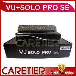 2014 newest stocks Linux Smart TV Player Multiple LNB control VU+SOLO PRO SE Digital Satellite Receiver factory
