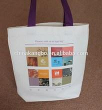 Customized authentic designer handbag wholesale canvas bag online shopping China supplier