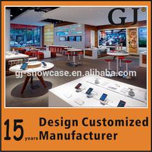 Mobile phone shop interior design for store furniture
