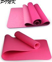 eco fancy pattern tpe foam mat custom privacy logo yoga mat folding
