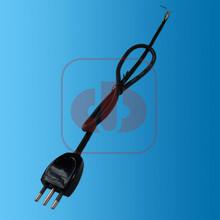 Italy power cord with 3 pin Italy plug 10A/250V