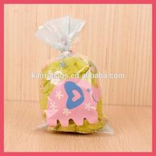 small bopp plastic gift bag shopping