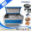 Hot sale Possible brand machine with CE,ISO CO2 laser engraving and cutting machine with double head and rollers