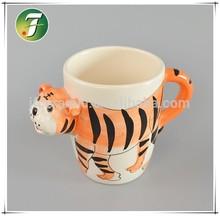 3D mug animal shape ceramic creative mug