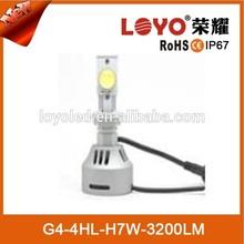 The best car light 10-30V DC LED head lamp auto lighting H7 led headlight