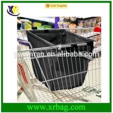 cart foldable shopping bag for supermarket trolly
