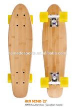 22 inch Bamboo Skateboard Deck Canadian marple