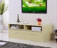 living room furniture MDF TV Stand Design/ Luxury Modern Wood TV Stand