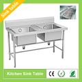 tavolo da cucina lavello in acciaio inox per il ristorante