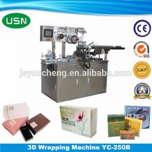 Heat sealing Automatic sheet packing wrapping machine