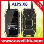 ALPS X8 IP67 Level Waterproof NFC Octa Core anti- shock telefono mobile