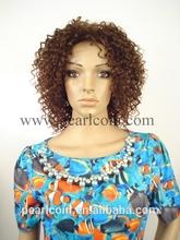100% Synthetic Kanekalon Toyokalon Japanese Fiber Jerry Curly Wig For Black Women