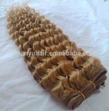 Chinese hair fabric,deep wave human hair weaving,DW human hair woven fabric