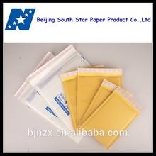 Waterproof plastic lined envelop