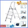 Wk-al204 doméstica escala escalas tipo y Step estructura escalera plegable banco de trabajo