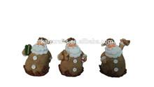 2014 new handmade resin christmas santa gift for sale