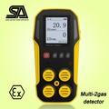 El registro de datos, mapy4 portátil detector de gas o2& co, analizador de gas, metro o2