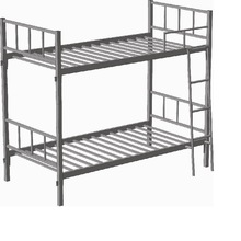 Very strong iron bunk bed/ cheap iron bed metal bed/military metal bunk bed