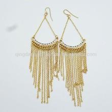 hot sale fancy simple earring george model of gold earring huggies earring (BF-ME-14110543)