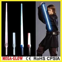 top cheap 85cm LED colorful star war jedi expandable sword