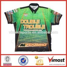 Motorsports Apperal/China manufacturer racing shirt/Car motor wear