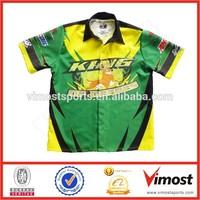 Team design racing shirt/Motorcycling tops/Racing team shirt
