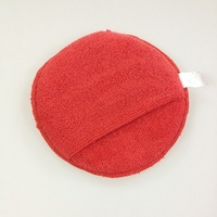 Auto care microfiber wax applicator polishing pads for cars