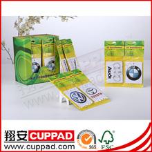 card paper air freshner,paper scents