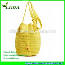 Luda New designed wool knits crochet shoulder bag Fashion pattern shoulder bag