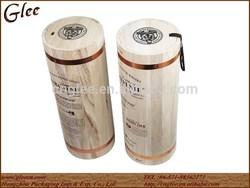 Novelty Wooden Whiskey Box with Silkscreen Logo