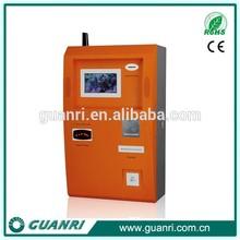 Restaurant,parking slot ticket dispenser kiosk/ cash payment machine -GUANRI K01