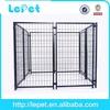 outdoor dog run gate