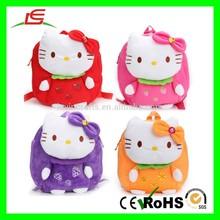 E146 4 Colors Hello Kitty Bow Plush Bag