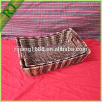 Wholesale Large Oval Plastic Woven Basket