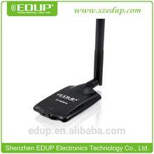 EDUP 1500mw wifi usb wireless adapter with SMA 9dbi antenna
