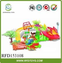 2014 Sweet baby toy hot selling children toy plastic rail car,china rail train