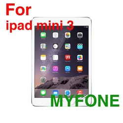 (Supplier price) clear mobile LCD screen protectors for apple ipad mini 3