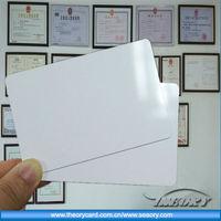 RFID card/ID card/PVC card, High Quality silver foil rfid business card printing for VIP member