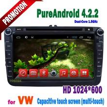 car stereo for vw skoda octavia VW passat b6 VW polo Jetta golf 5 car multimedia with GPS navigation radio BT