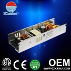 power supply 12v 200W switching power with ETL/CE certificate & PFC from China manufacture