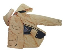 Talson PU Coating Waterproof & Breathable 2-in-1Wholesale Parka jackets
