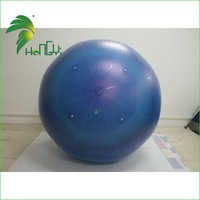giant helium balloon with light/exhibition PVC inflatable planet