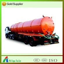 Roading Cleaning Tanker Truck,Trailer/Sewage Suction Trailer With Volume Optional