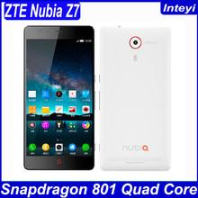 "ZTE Nubia Z7 Mini Max 4G LTE Mobile Phone Qualcomm MSM8974AA 2.0GHz 5.0"" FHD 1920x1080 2GB RAM 16GB 13.0MP Camera WCDMA Dual SIM"