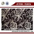 preto e bege china flor reunindo têxteis vestido de noiva material