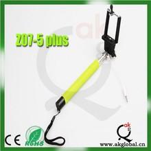 z07-5 plus ,Self Portrait Stick Handheld Stick Monopod, Wireless Cable Take Pole ,z07-5plus For iPhone 6 /Samsung