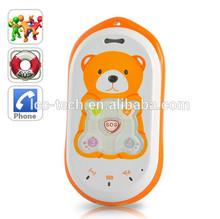 "Kids Portable GPS Tracker ""bear"" - Real Time Tracking, SOS alarm Phone"